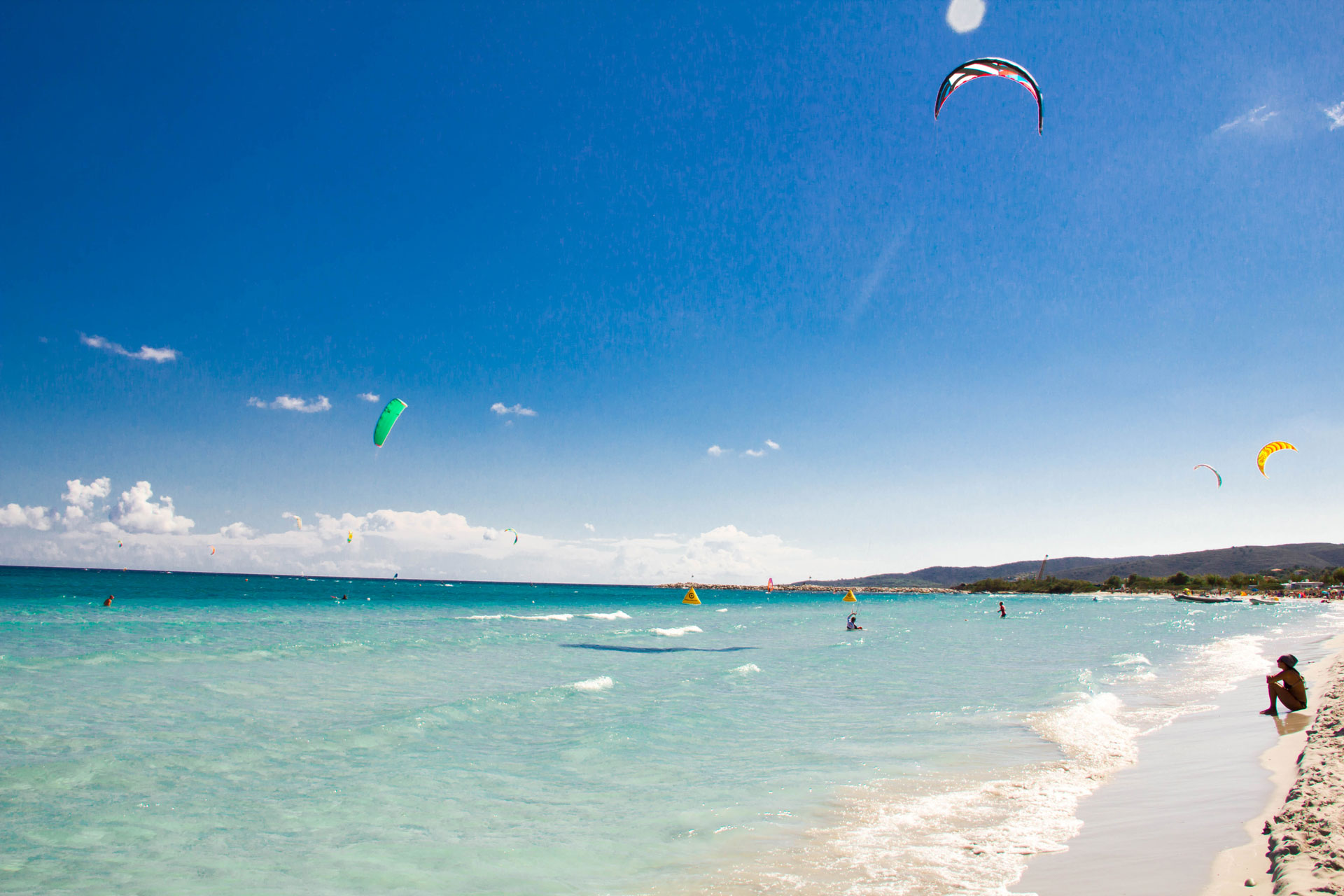 dove fare kitesurf in sardegna