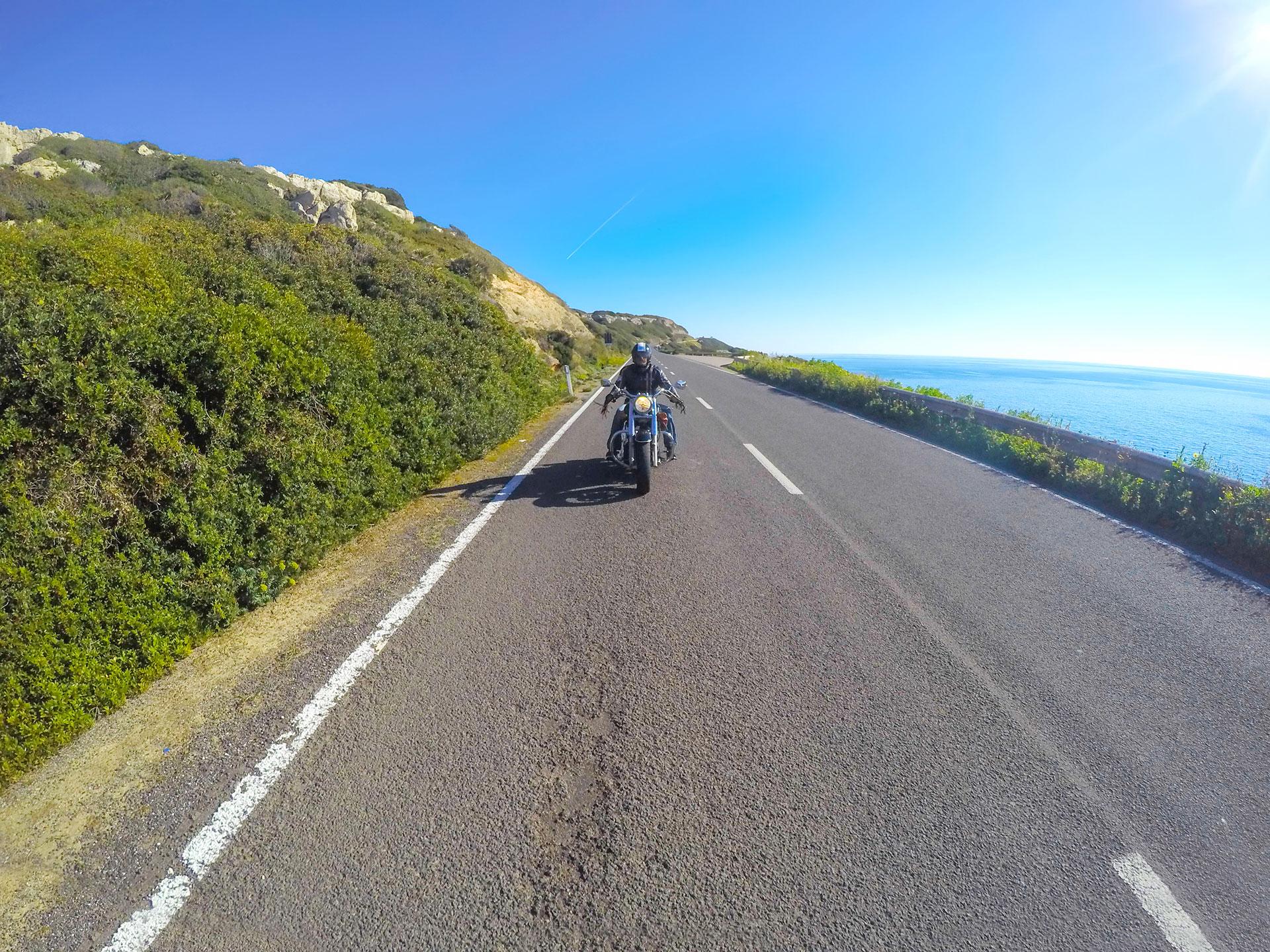 tour della sardegna in moto