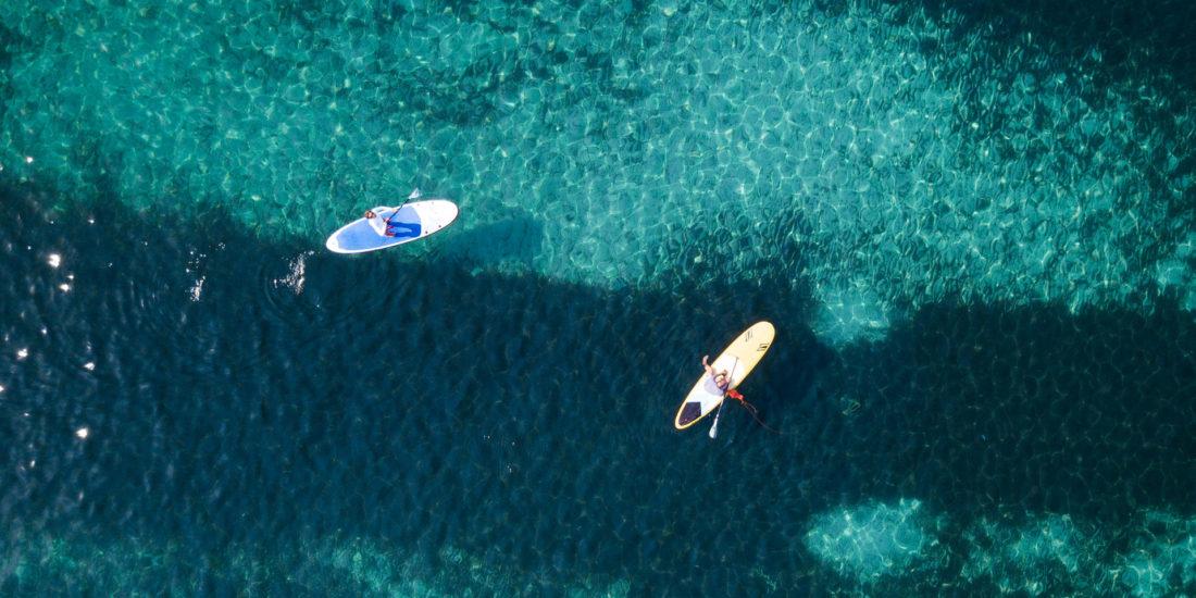 SUP in Sardegna