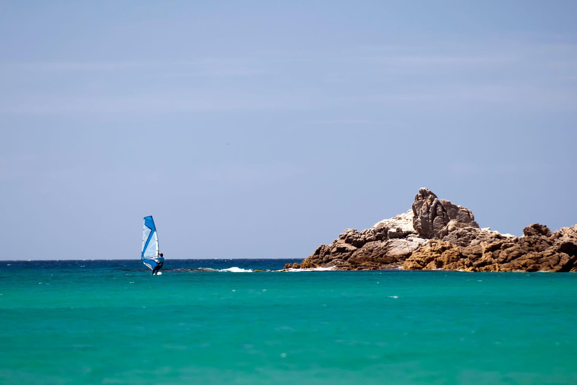 windsurf in Sardegna