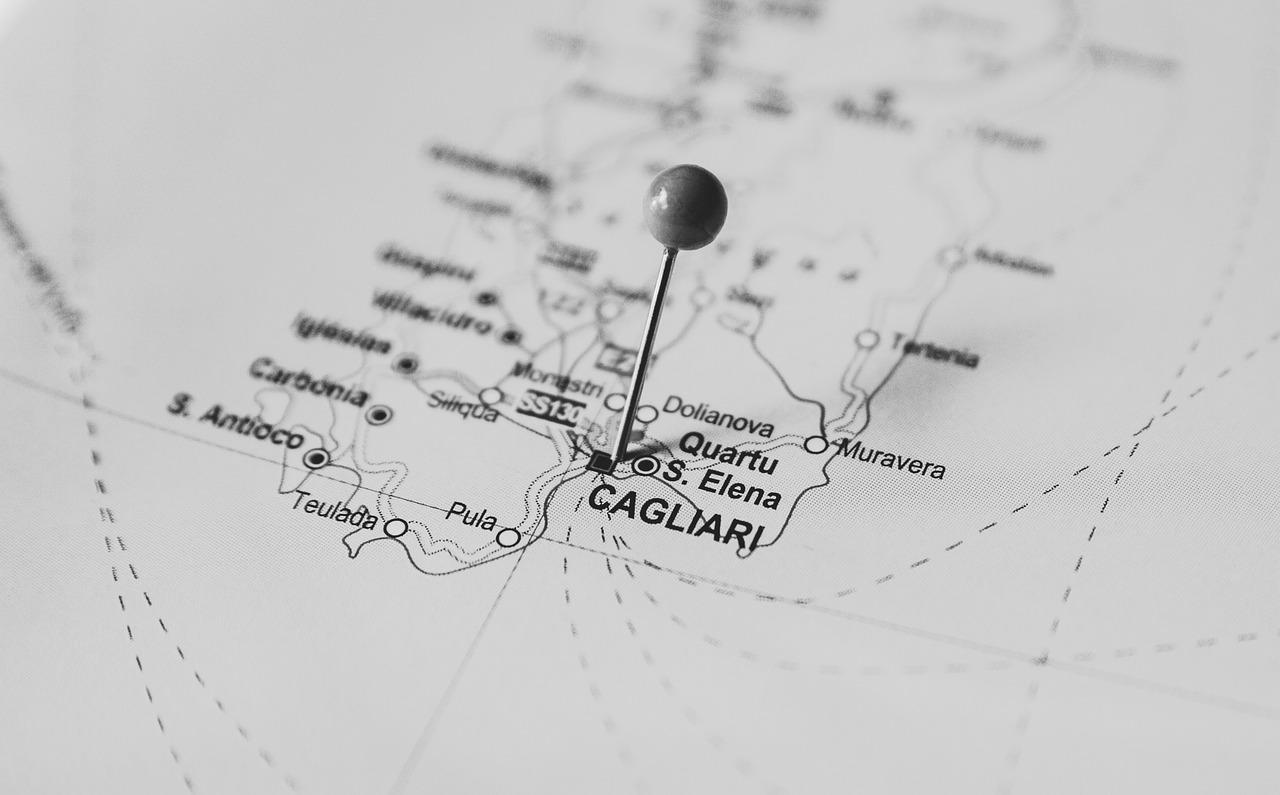Cartina Porti Sardegna.Porti Della Sardegna Mappa Porti Di Sardegna Nord Sud Traghetti